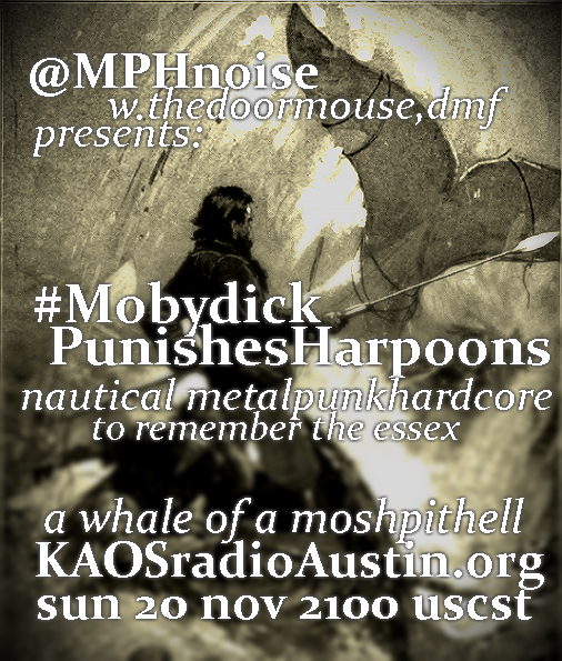 Mobydick Punishes Harpoons edition of the Mosh Pit Hell