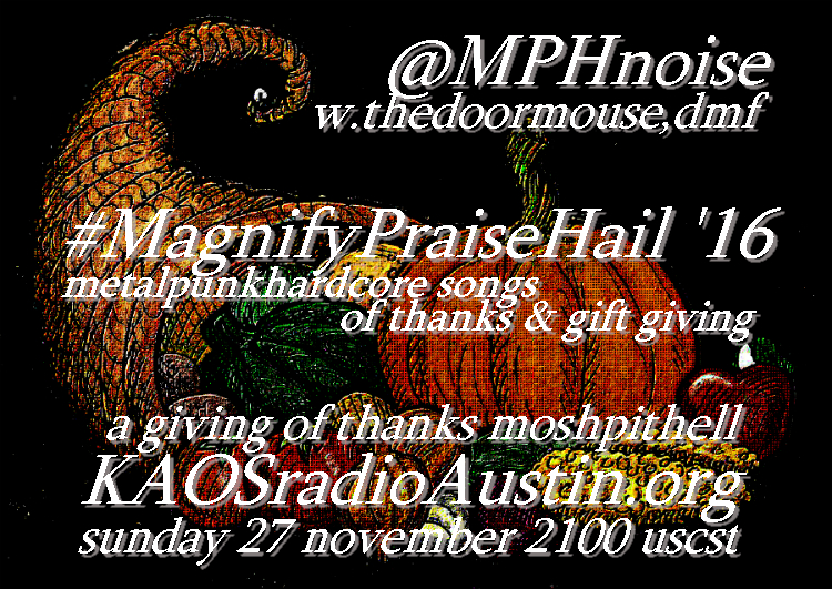 Magnify Praise Hail '16 edition of the Mosh Pit Hell – happy tgiving