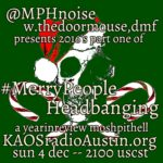 Merry People Headbanging edition of the Mosh Pit Hell – part one of the 2016 year in review