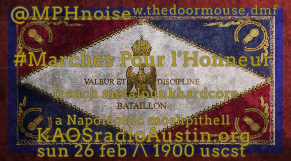 Marches Pour l'Honneur edition of Mosh Pit Hell – Napoléonic aggression
