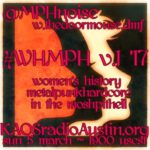 WHMPH vol.1 '17 edition of Mosh Pit Hell – Women's History Month begins!