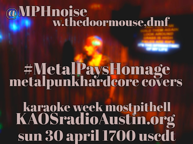 Metal Pays Homage '17 edition of Mosh Pit Hell – a Karaoke covers show