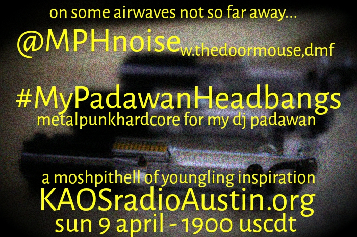My Padawan Headbangs '17 edition of Mosh Pit Hell – a youngling inspired show