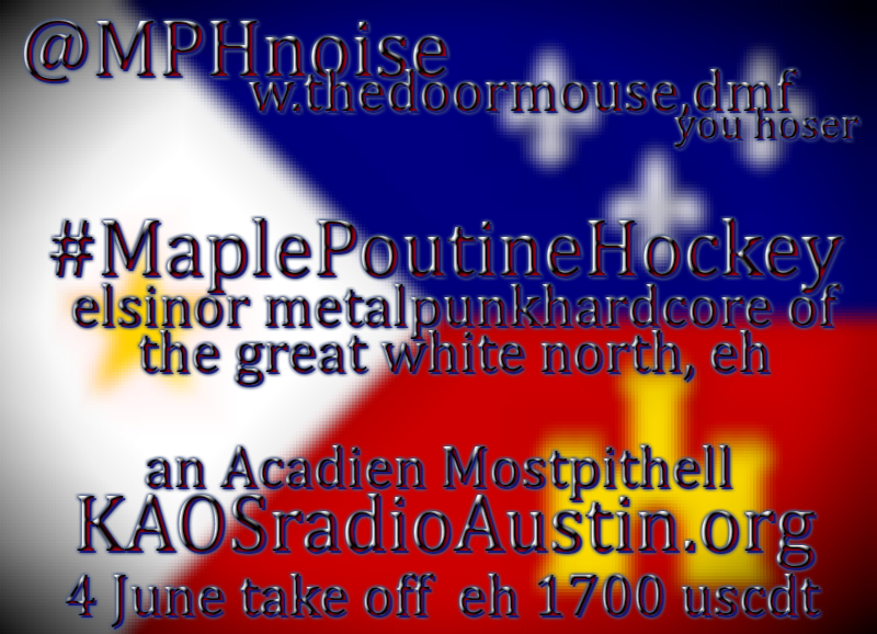 Maple Poutine Hockey edition of Mosh Pit Hell – a Canadian metal show