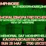 Memorializing Patriotic Heroes edition of Mosh Pit Hell – war metal show